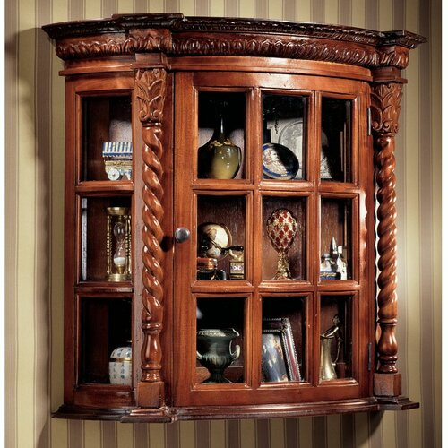 Cardington Square Manor Curio Cabinet
