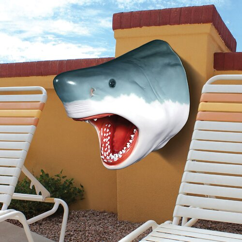 The Great White Shark Trophy Wall Decor