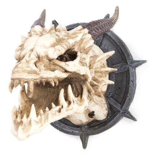 Design Toscano Horned Dragon Skull Trophy Wall Décor