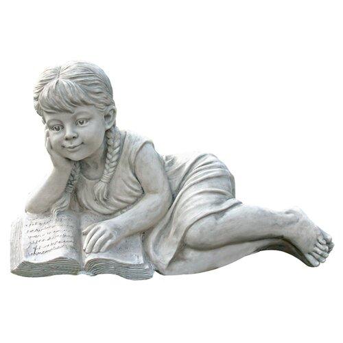 Reading Rebecca Garden Scholar Statue