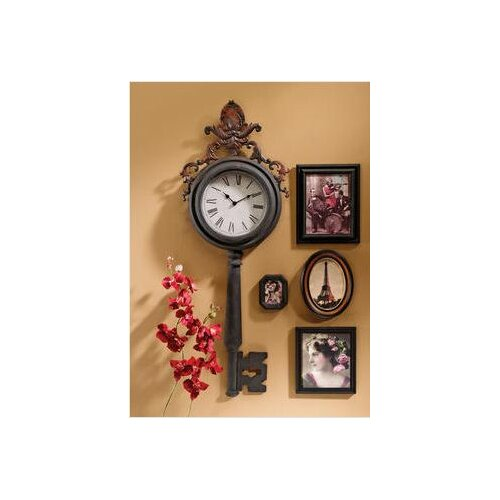 Unlocking Time Key Wall Clock