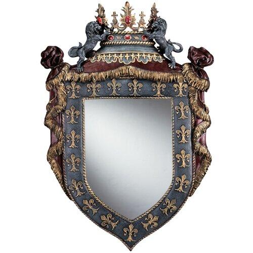 Chateau St. Roche Sculptural Wall Mirror