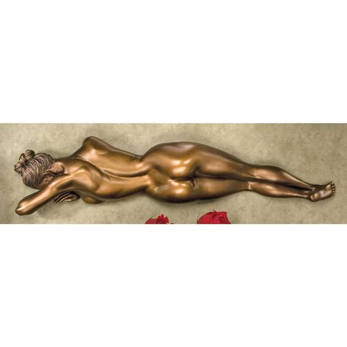 Restless Beauty Wall Sculpture in Antique Bronze
