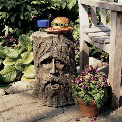 Design Toscano The Odin Tree Stump Statue Table