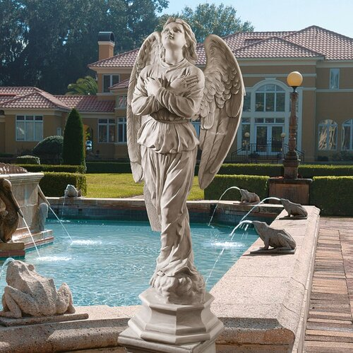 Design Toscano Glory Del Cielo Angel Statue