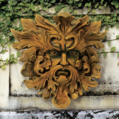 Design Toscano Oak King Greenman Wall Decor