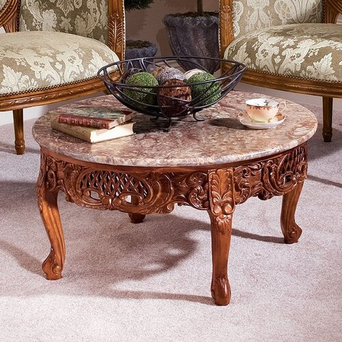 Design Toscano Chantret Coffee Table