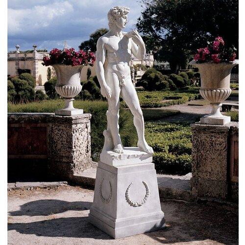 Design Toscano David Grande Garden Statue