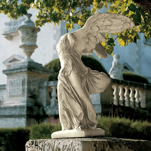 Design Toscano Nike of Samothrace Statue