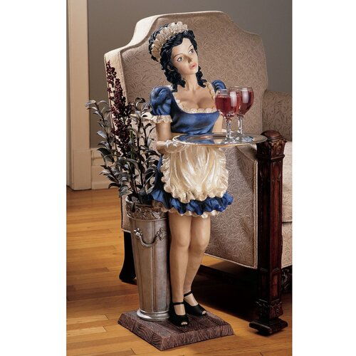 Design Toscano Genevieve the Buxom French Maid Statue