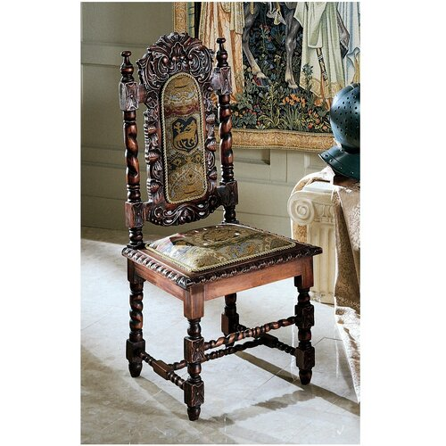 Charles Ii Fabric Side Chair Wayfair