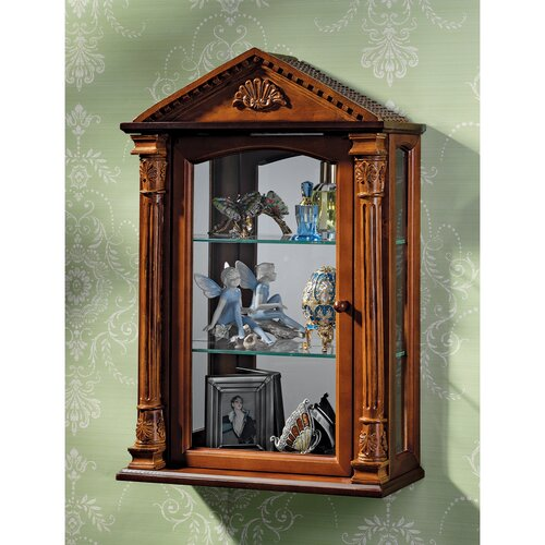 Essex Hall Wall Curio Cabinet