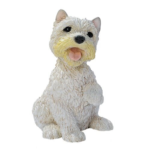 Design Toscano West Highland Terrier Puppy Dog Figurine