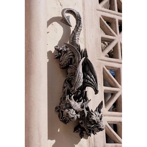 Double Trouble Hanging Gargoyle Statue