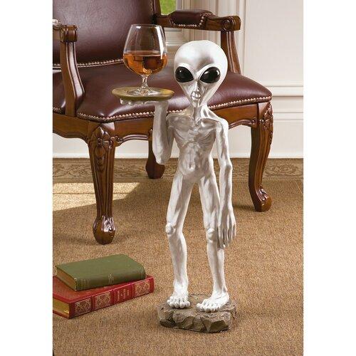 Roswell the Alien Butler Sculpture
