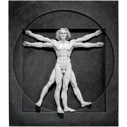 Design Toscano Vitruvian Man Wall Décor