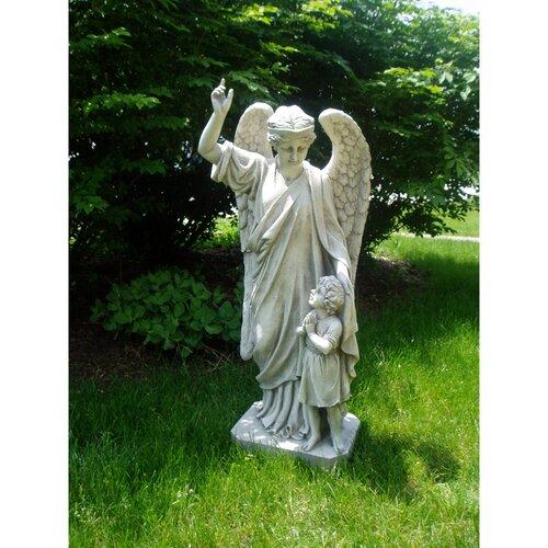 Design Toscano Guardian Angel Child's Prayer Statue