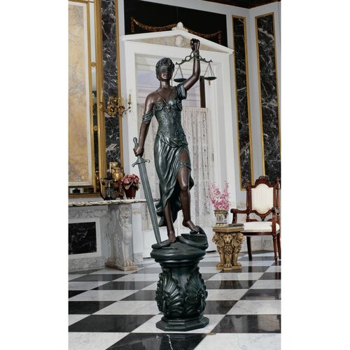 Design Toscano Themis, Goddess of Justice Statue