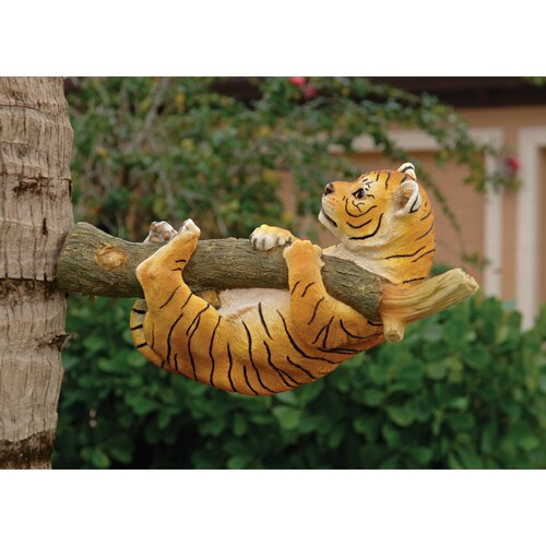 Up a Tree Tiger Cub Statues