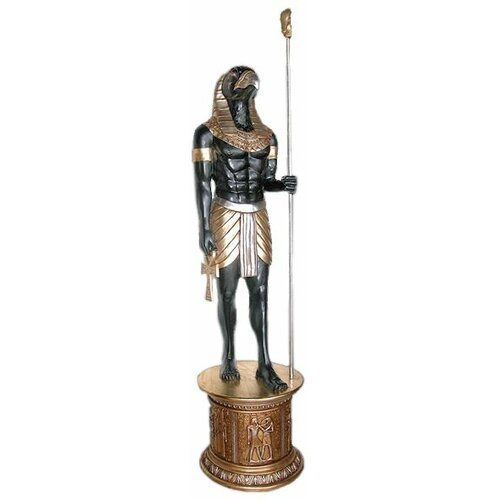 The Egyptian Grand Ruler Life-Size Horus Statue