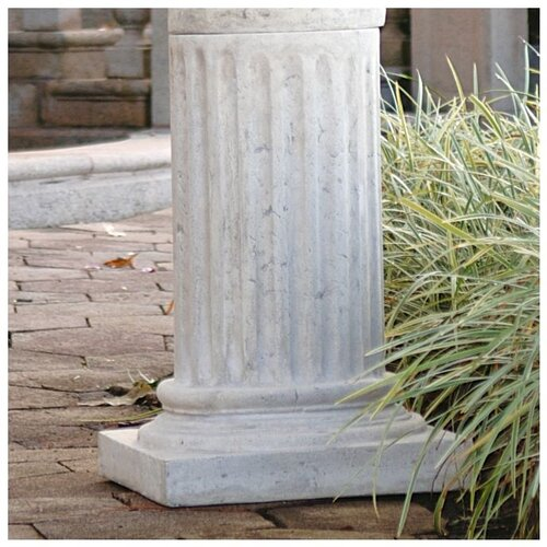 Design Toscano Apollo Belvedere Bust and Plinth Roman Pedestal