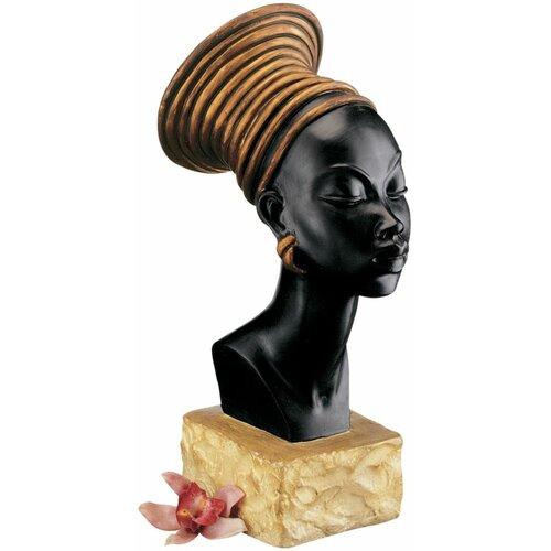 Design Toscano Nubian Kandake Sculptural Bust