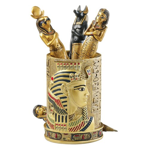 Egyptian Pharaoh Pen Vessel