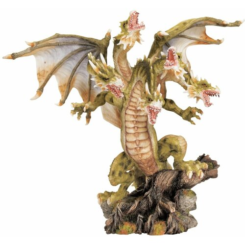 Lysander the Five-Headed Dragon Figurine