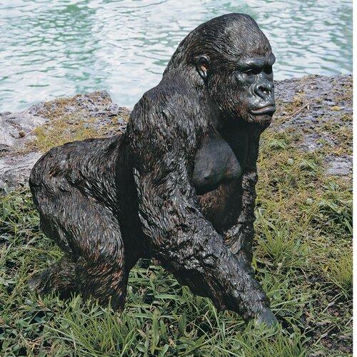 Design Toscano Gorilla of The Congo Statue