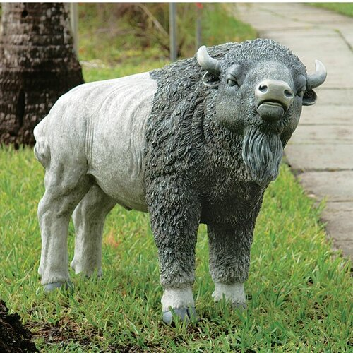 Design Toscano The Great Buffalo Statue