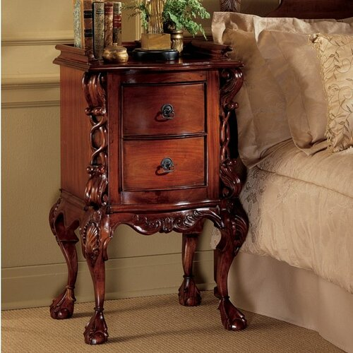 Chateau Lorraine 2 Drawer Nightstand