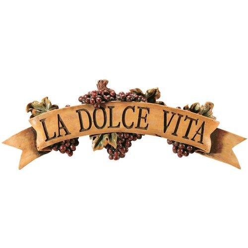 Design Toscano La Dolce Vita Wall Décor