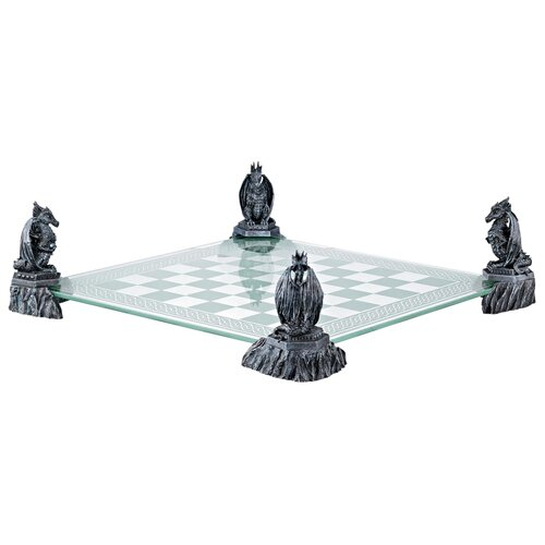 Design Toscano Dragons of the Realm Chess Board