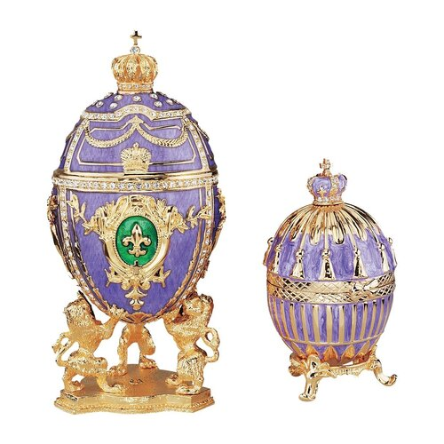 Faberge Style Collectible Egg Set