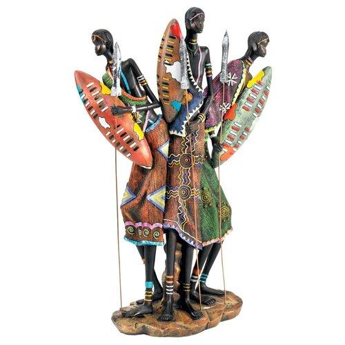 Design Toscano Zulu Warriors of Kenya