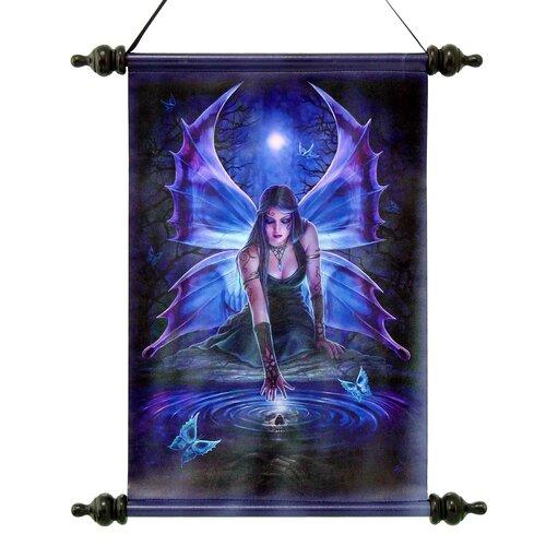 Immortal Flight Gothic Fairy Graphic Art on Canvas