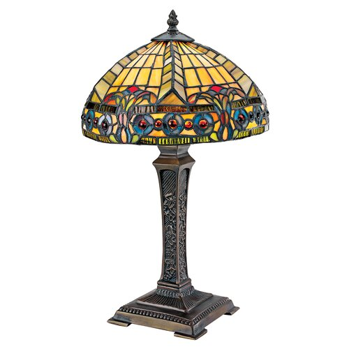 """Design Toscano The Carlisle Beaux-Arts 19"""" H Table Lamp with Bowl Shade"""