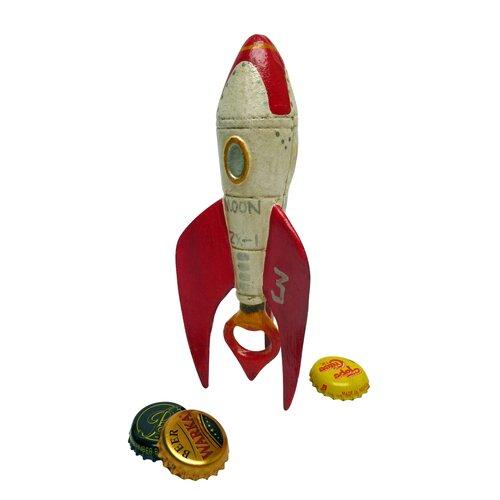 Retro Rocket Ship Bottle Opener