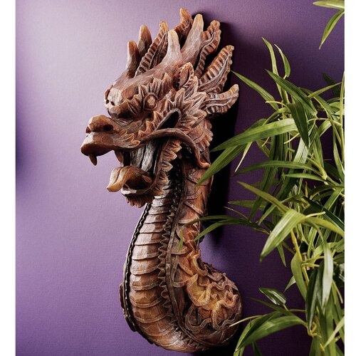 Design Toscano Fire Dragon Wall Décor