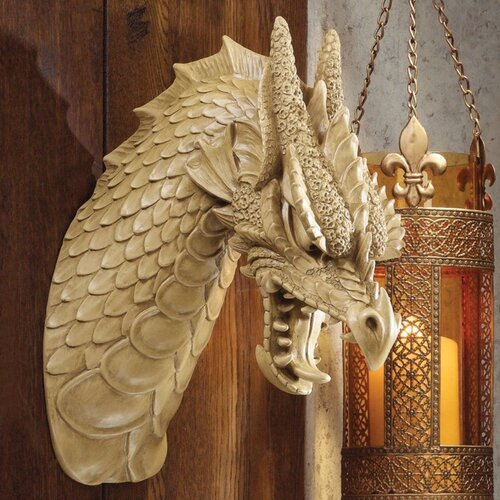 Design Toscano Head of the Beast Dragon Wall Décor