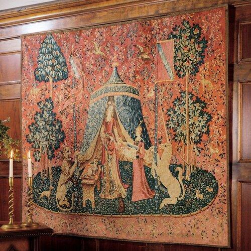 Design Toscano Mon Seul Desir Tapestry