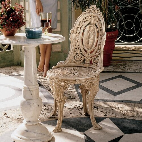 Design Toscano Regent's Park Victorian Garden Dining Side Chair
