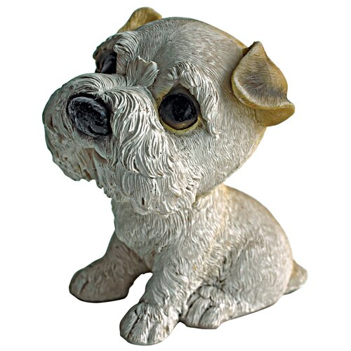 Prized Pup Airdale Puppy Dog Statue