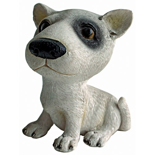 Design Toscano Prized Pup Bull Terrier Puppy Dog Statue