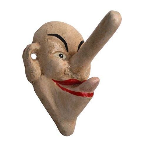 Design Toscano Liar, Liar Big Nose Hook