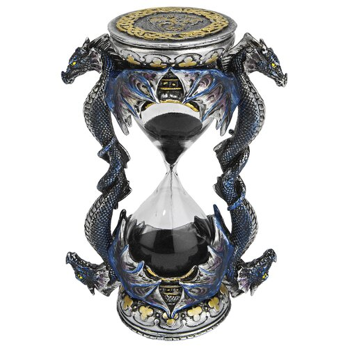 Design Toscano Death's Door Dragon Sandtimer Hourglass Figurine