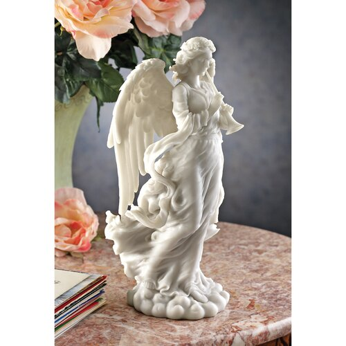 Design Toscano Angel Trumpeting Cathedral Statue