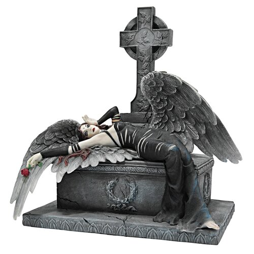 Design Toscano Angel Mistress of the Crypt Gothic Statue