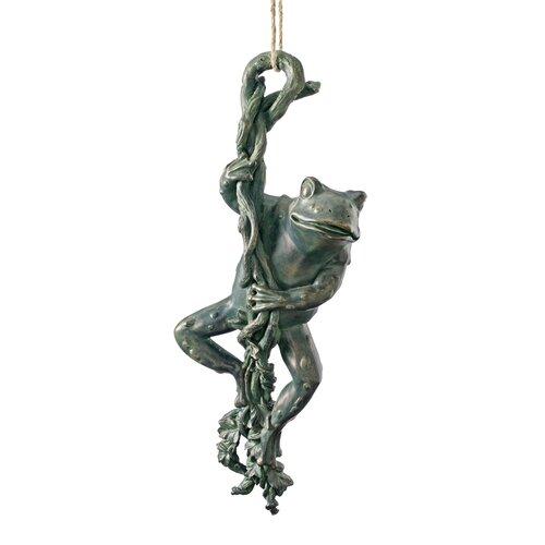 The Daring, Dangling Frog Statue