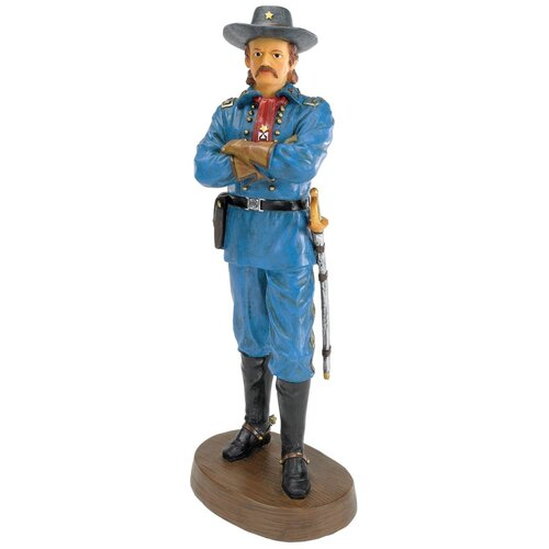 Design Toscano General George Armstrong Custer Figurine